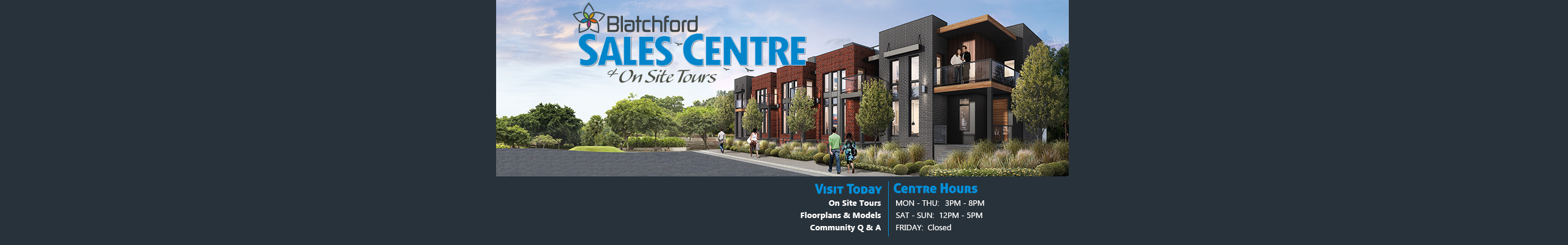 Blatchford - Sales Centre Now Open
