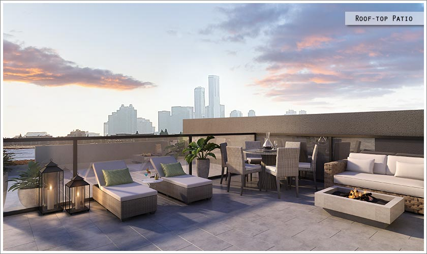 Roof-top Patio / Deck